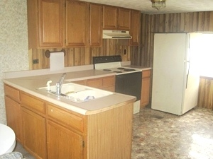 SOLD!  54 Kenny Bug Road, Williamsburg, KY 	This 24x40 mobile home offers 3 bedrooms, 1 bath  $39,000