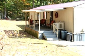 Sold!  10 wooded acres, 3 bedroom home with over 2500 sf of living space and a 16 X 60, 1996 Fleetwood mobile home
