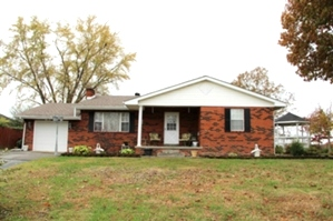 Reduced! 2660 W Hwy 204 | Brick home on 1.33 ac. w/3 bdrms, 2 baths, 24' X 50' metal building, basement