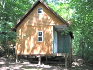 SALE PENDING! HWY 1804, WMSBG WANT TO GO OFF THE GRID? CHECK OUT THIS 14 ACRES +/-: PARTIALLY FINISHED CABIN INCLUDED